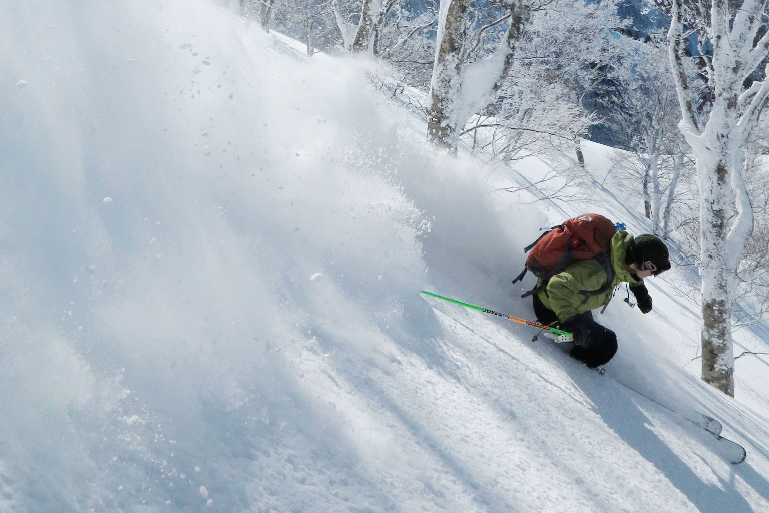 Nozawa backcountry tour
