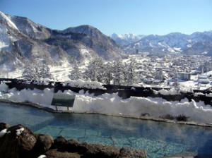 Yuzawa hot springd