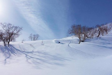 Nagano backcountry ski